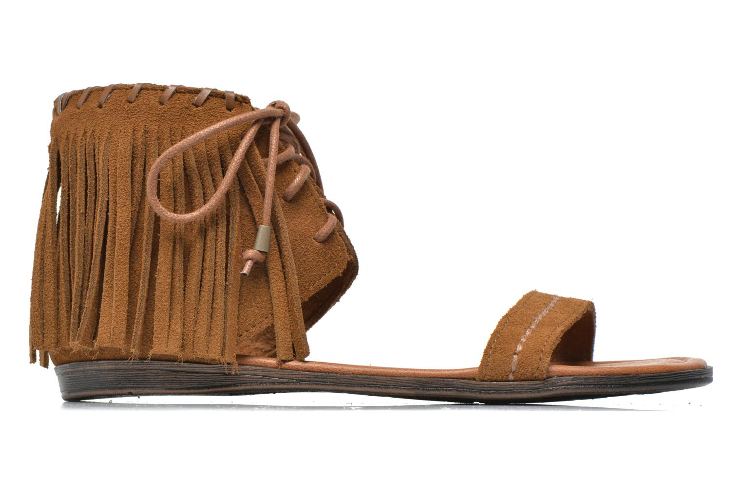Sandals Minnetonka Havana Brown back view