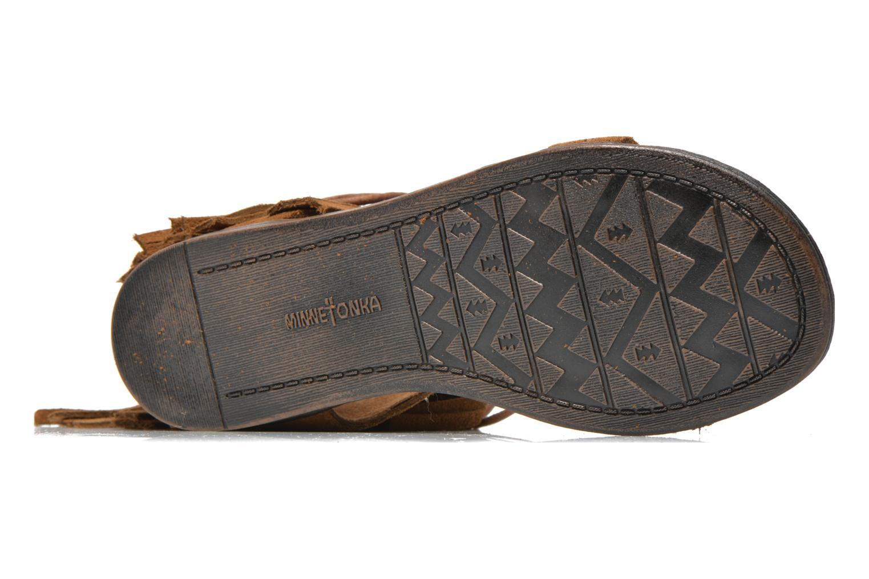 Sandales et nu-pieds Minnetonka Havana Marron vue haut