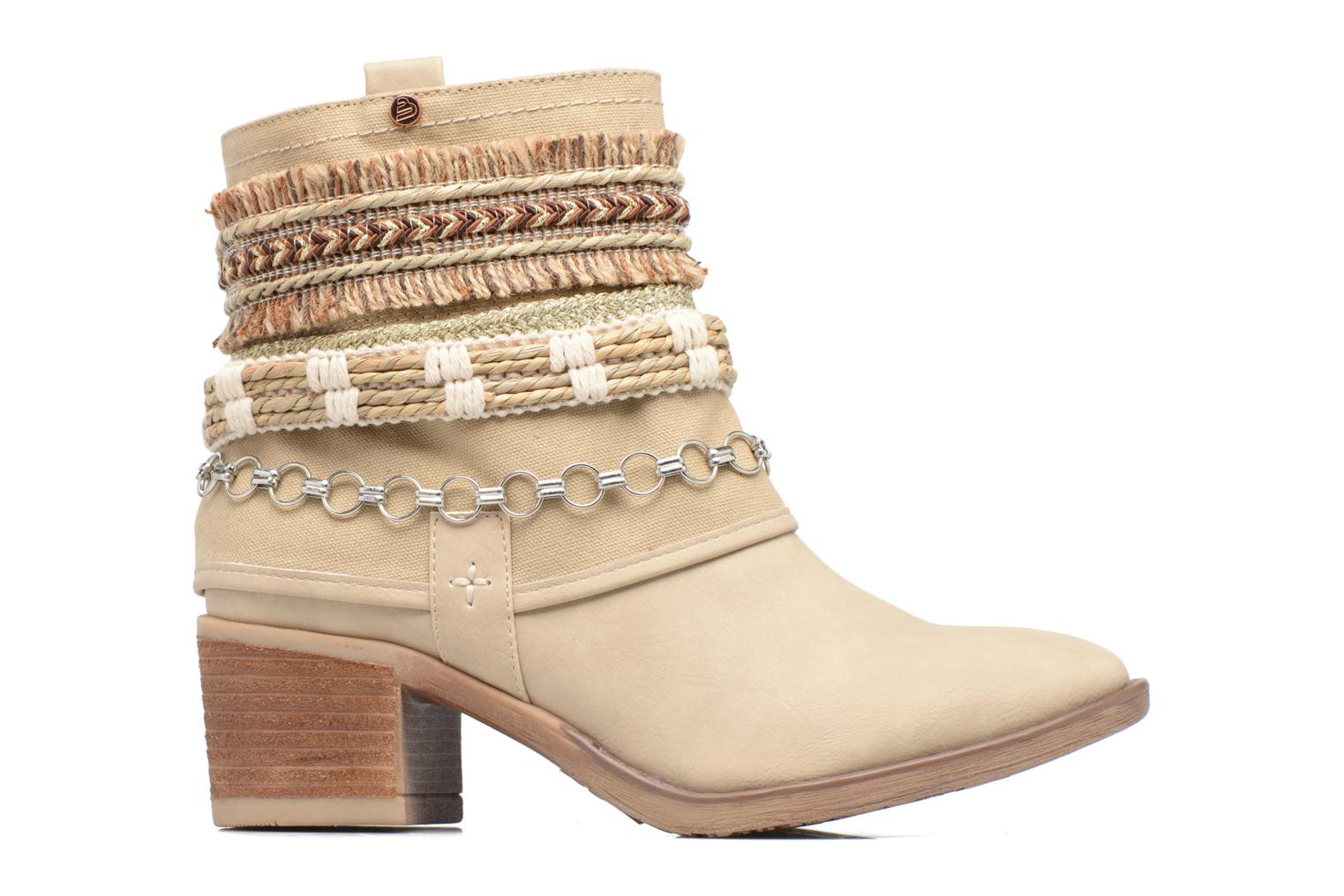 Ankle boots Bullboxer Morano Beige back view