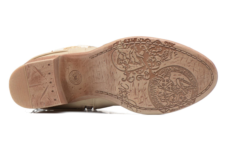 Boots en enkellaarsjes Bullboxer Morano Beige boven