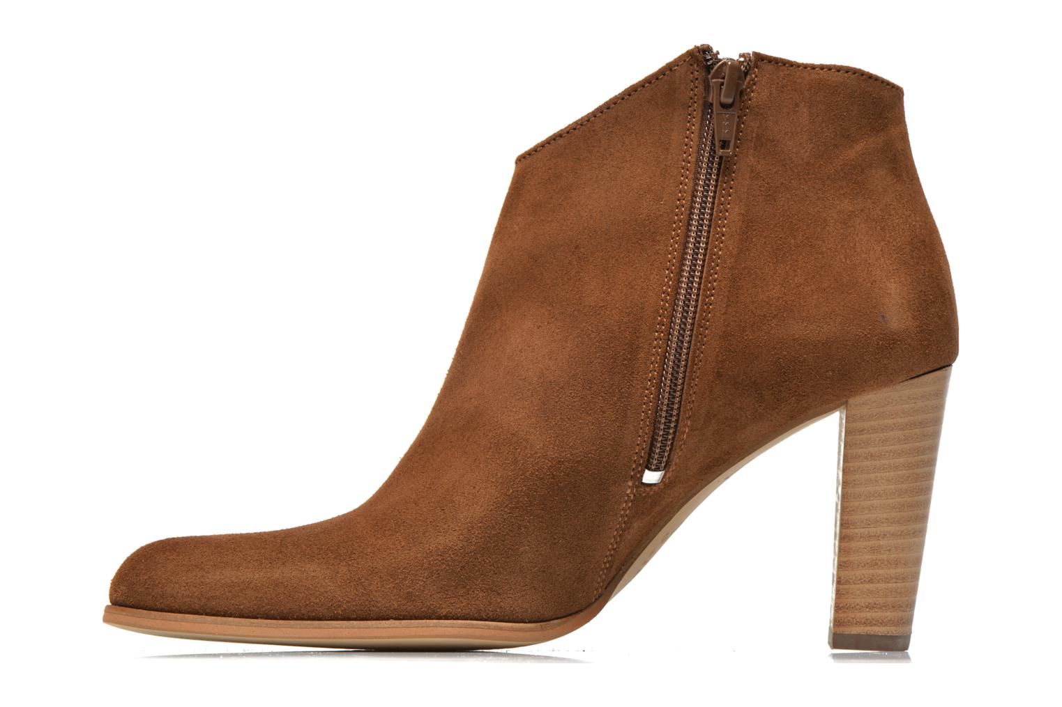 Ankle boots Muratti Angel Brown front view