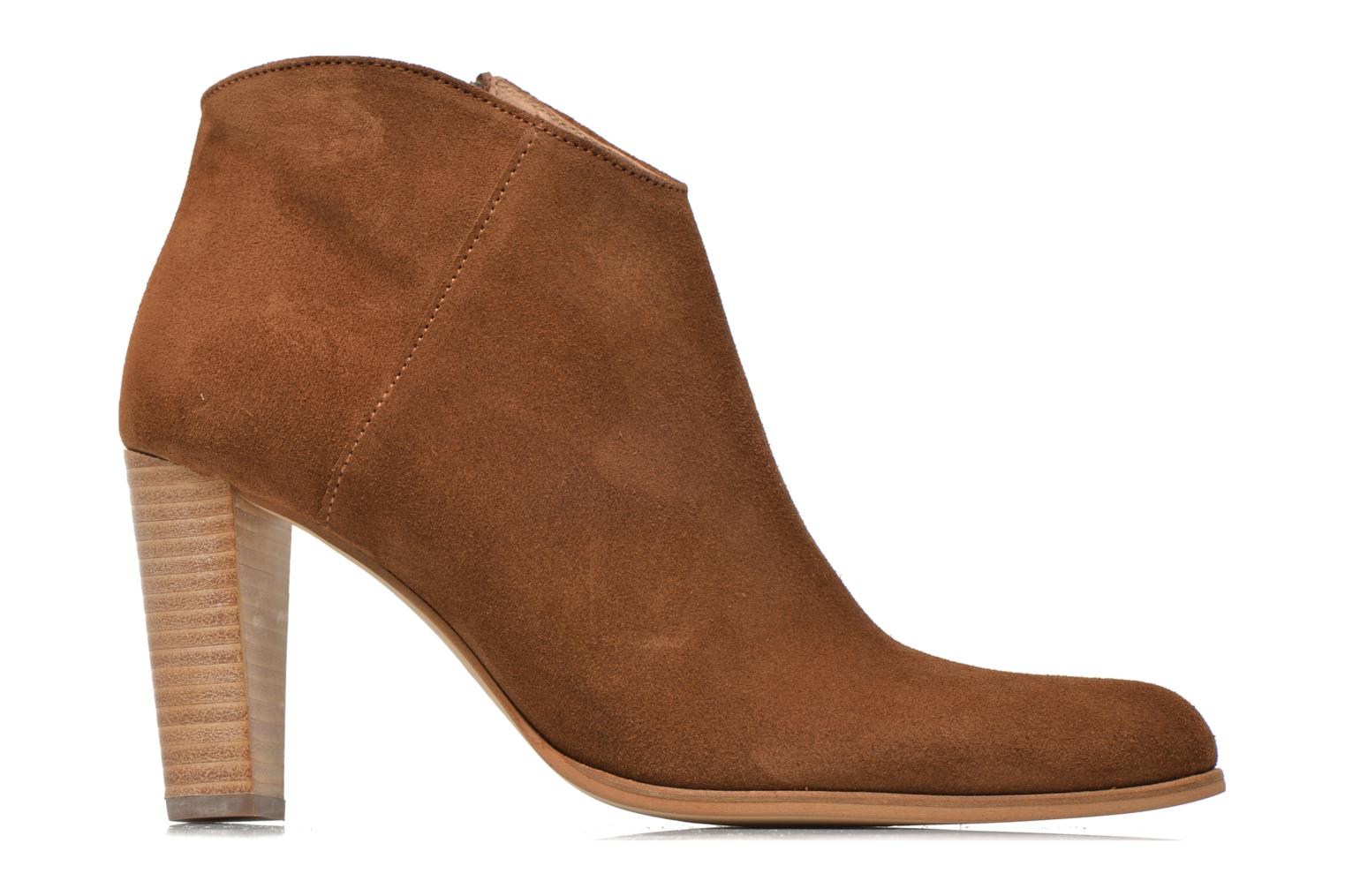 Ankle boots Muratti Angel Brown back view