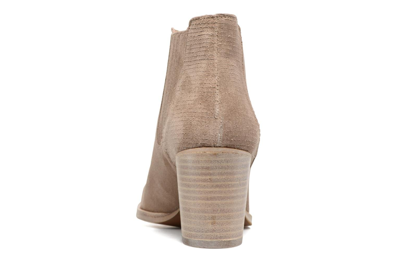 Ankle boots Muratti Bloody Beige view from the right