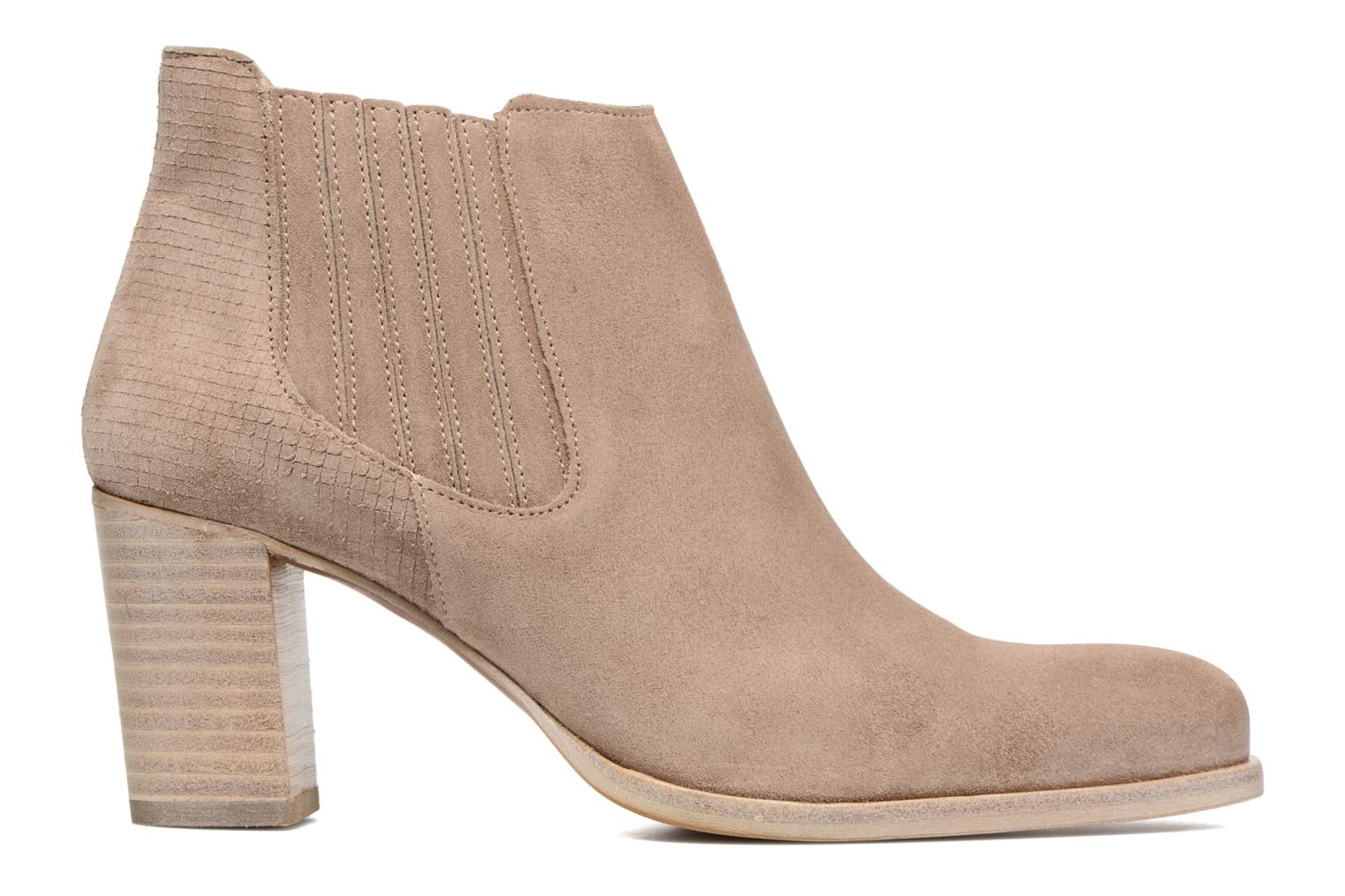 Ankle boots Muratti Bloody Beige back view