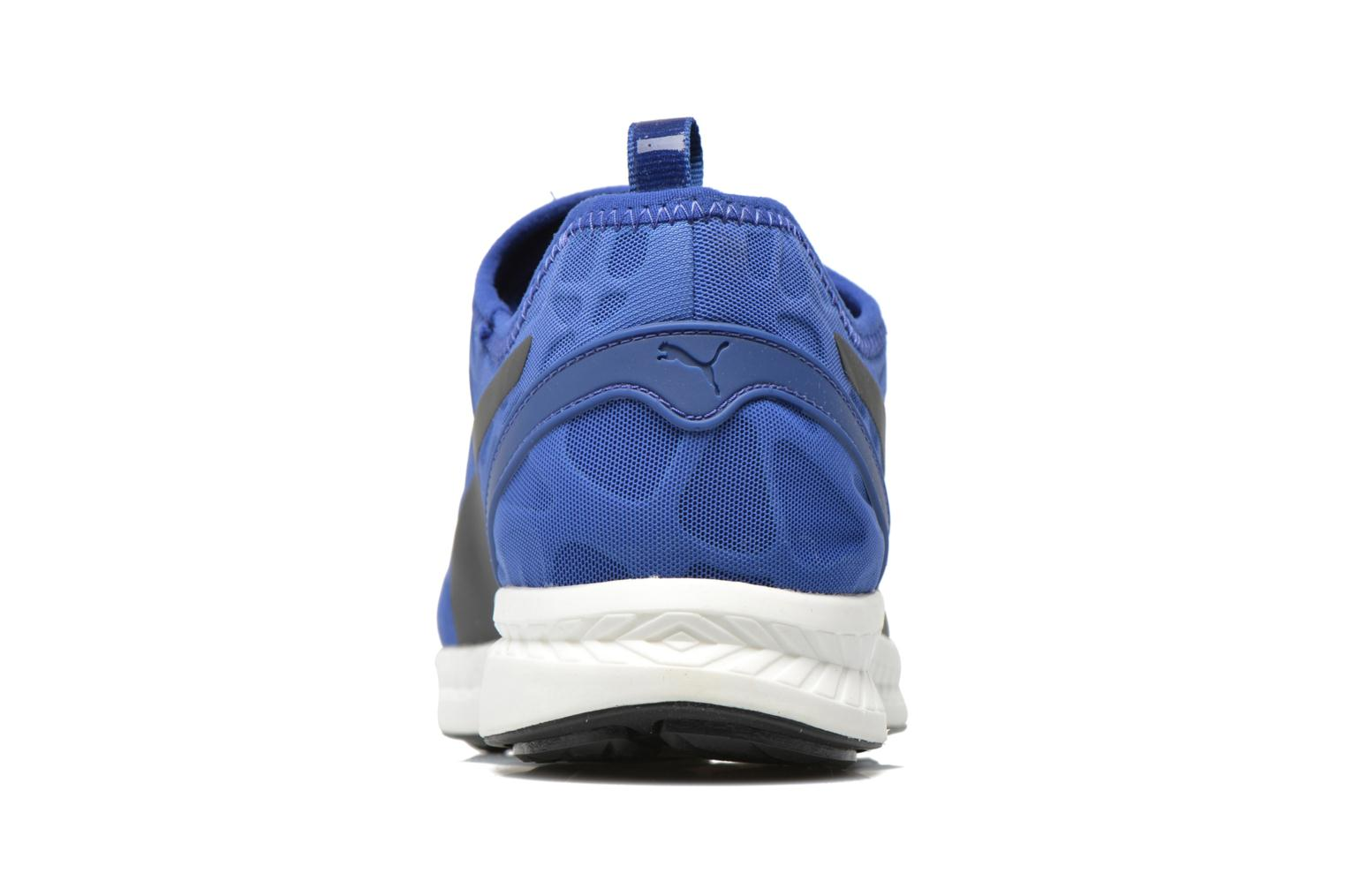 Baskets Puma Disc S Ignite Str Foam Bleu vue droite