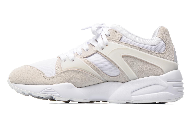 Sneaker Puma Blaze Trinomic weiß ansicht von vorne