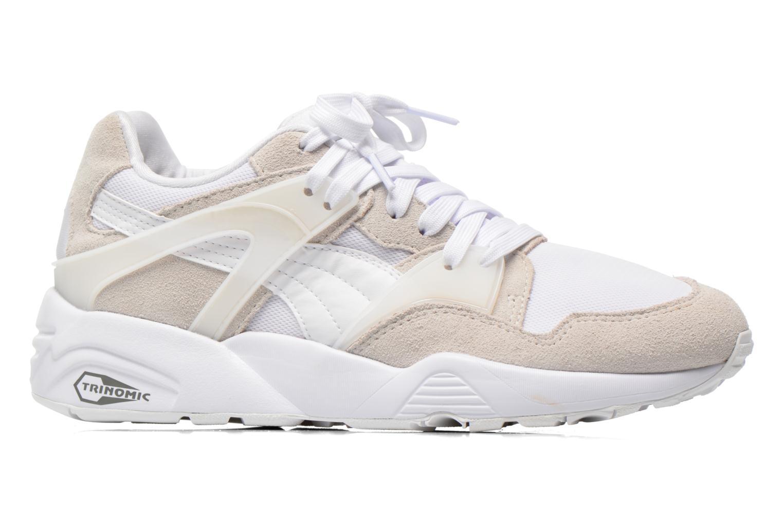 Sneaker Puma Blaze Trinomic weiß ansicht von hinten