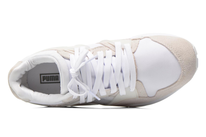 Sneaker Puma Blaze Trinomic weiß ansicht von links