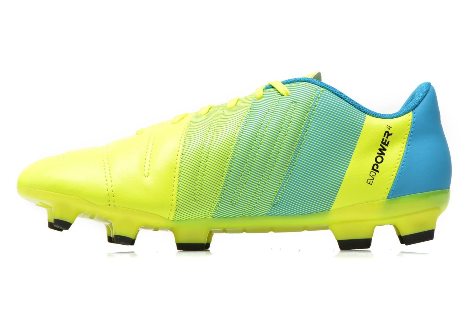 Sport shoes Puma Evopower 4.3 FG Yellow front view