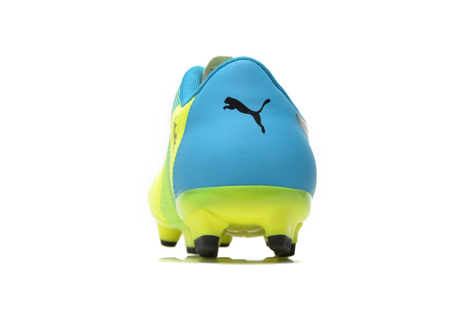 Sport shoes Puma Evopower 4.3 FG Yellow view from the right