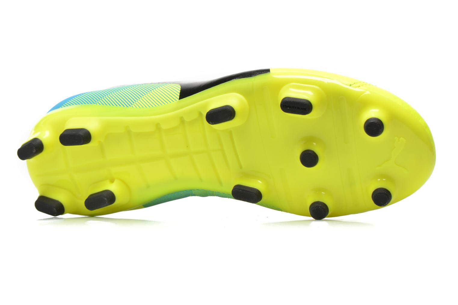 Sport shoes Puma Evopower 4.3 FG Yellow view from above