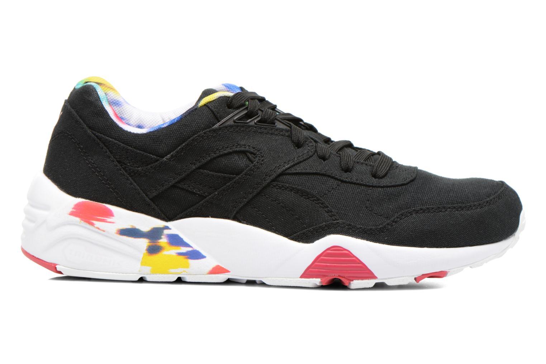 Sneaker Puma WNS R698 Blur Trinomic schwarz ansicht von hinten