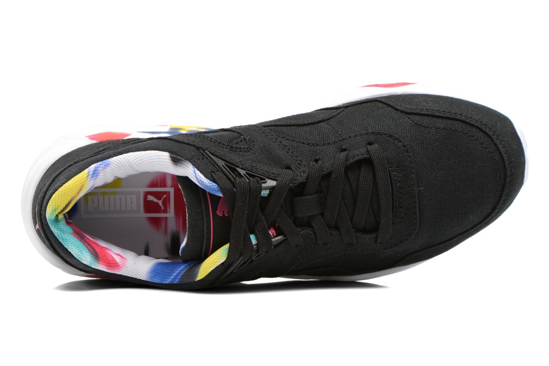 Sneaker Puma WNS R698 Blur Trinomic schwarz ansicht von links