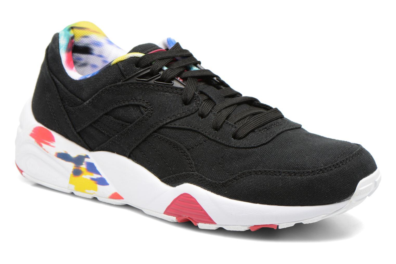 Sneaker Puma WNS R698 Blur Trinomic schwarz detaillierte ansicht/modell