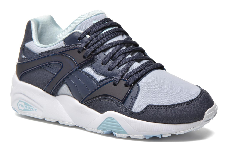 Sneakers Puma WNS Blaze Filtered Trinomic Blå detaljerad bild på paret