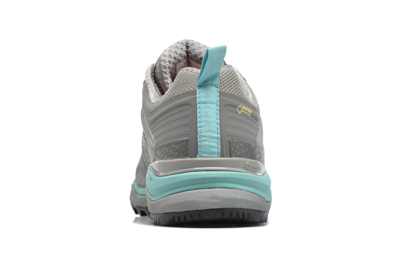 Zapatillas de deporte The North Face Ultra Fastpack II GTX W Gris vista lateral derecha