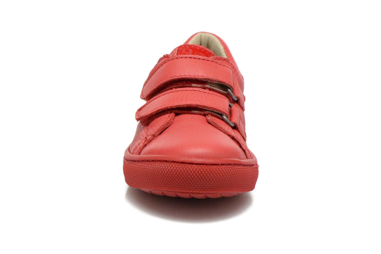 Baskets Art A537 Dover Rouge vue portées chaussures