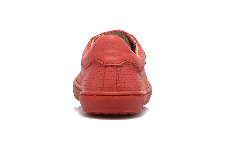 Sneaker Art A537 Dover rot ansicht von rechts