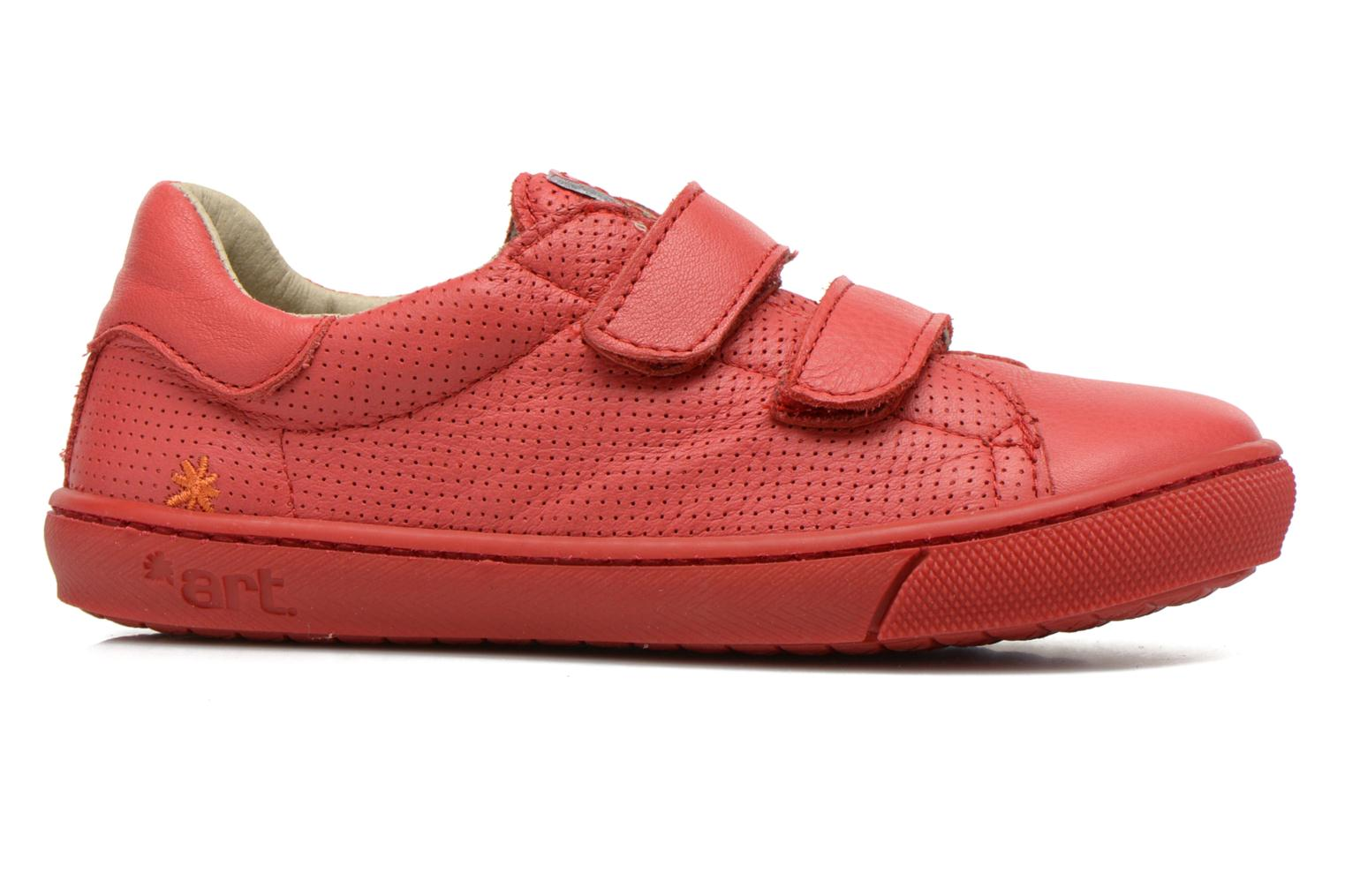 Sneakers Art A537 Dover Rood achterkant