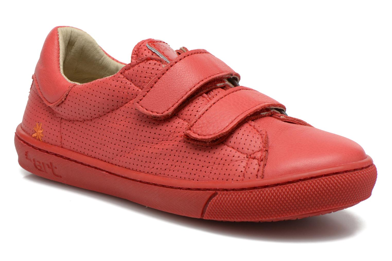 Sneakers Art A537 Dover Rood detail
