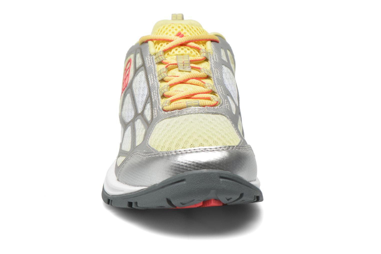 Chaussures de sport Columbia Megavent Fly Jaune vue portées chaussures