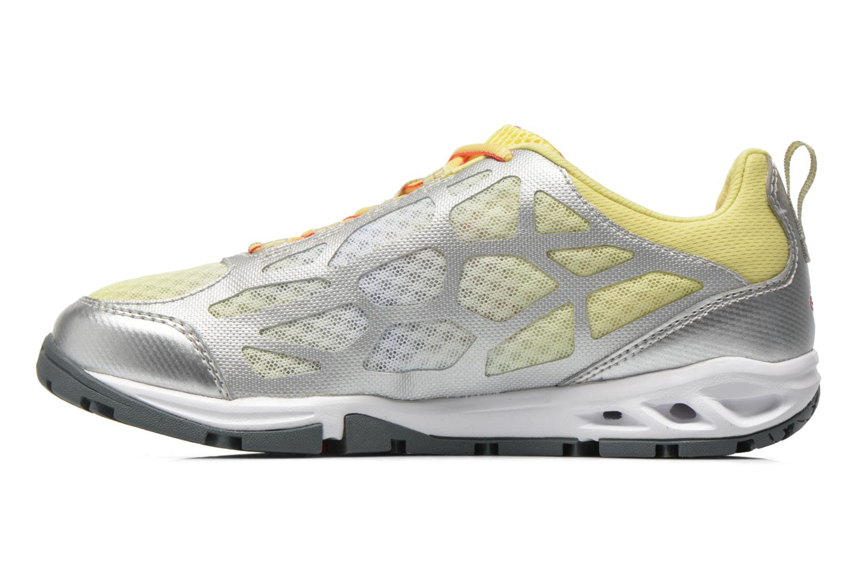 Chaussures de sport Columbia Megavent Fly Jaune vue face