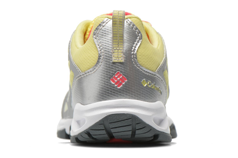 Chaussures de sport Columbia Megavent Fly Jaune vue droite