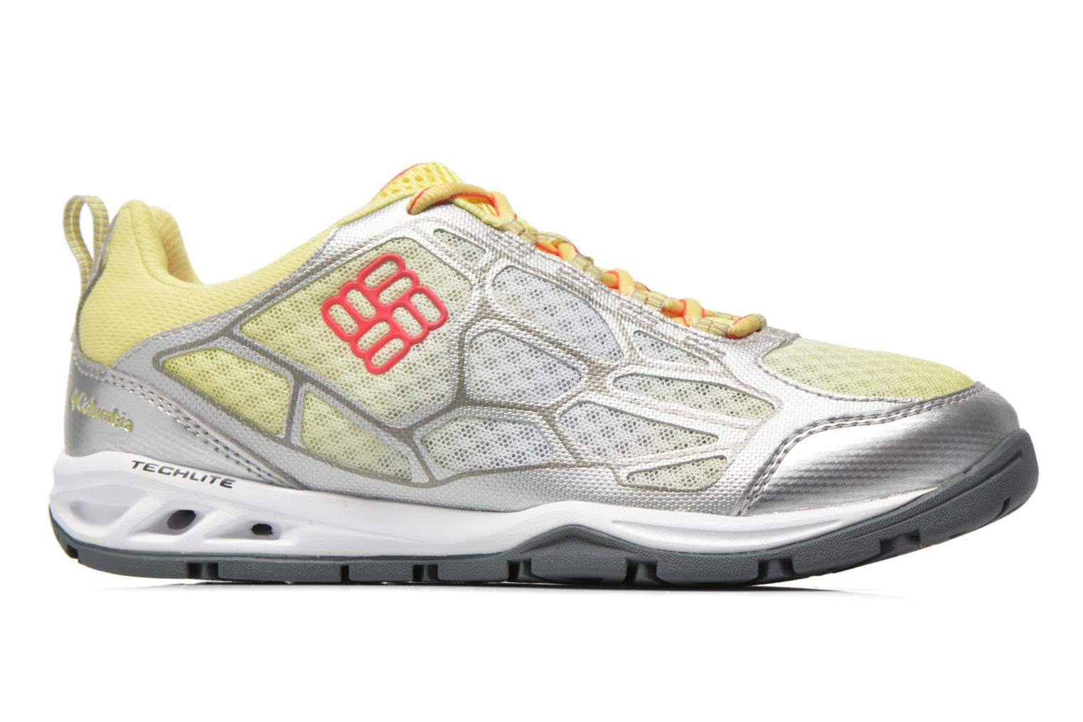 Sport shoes Columbia Megavent Fly Yellow back view