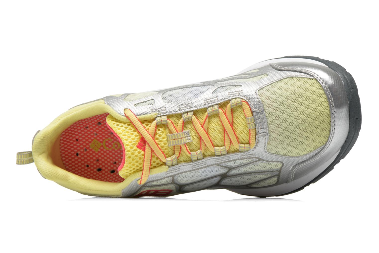 Chaussures de sport Columbia Megavent Fly Jaune vue gauche