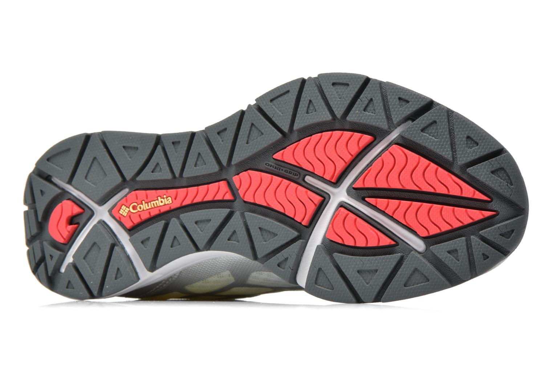 Chaussures de sport Columbia Megavent Fly Jaune vue haut