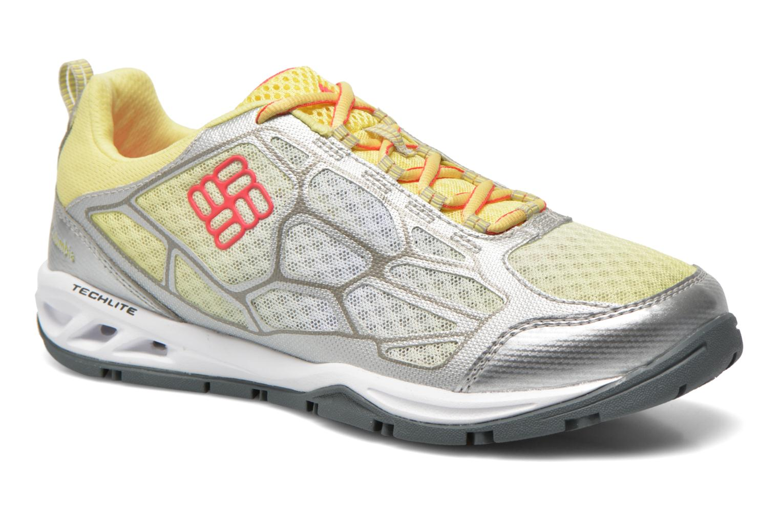 Sport shoes Columbia Megavent Fly Yellow detailed view/ Pair view