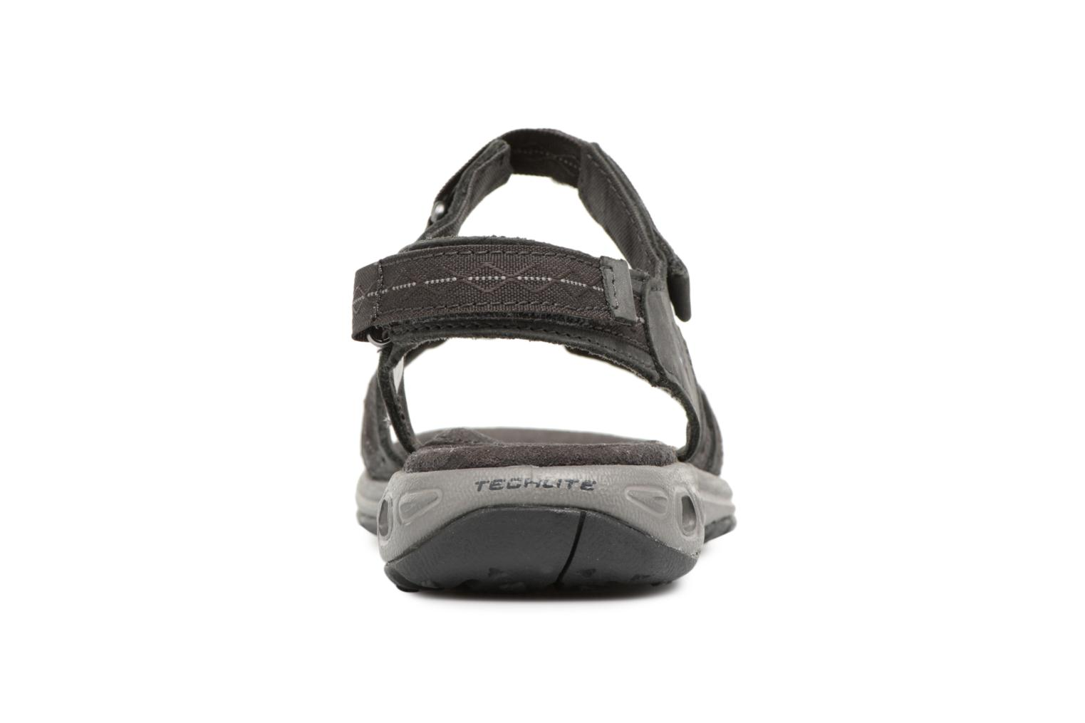 Sport shoes Columbia Kyra Vent II Grey view from the right