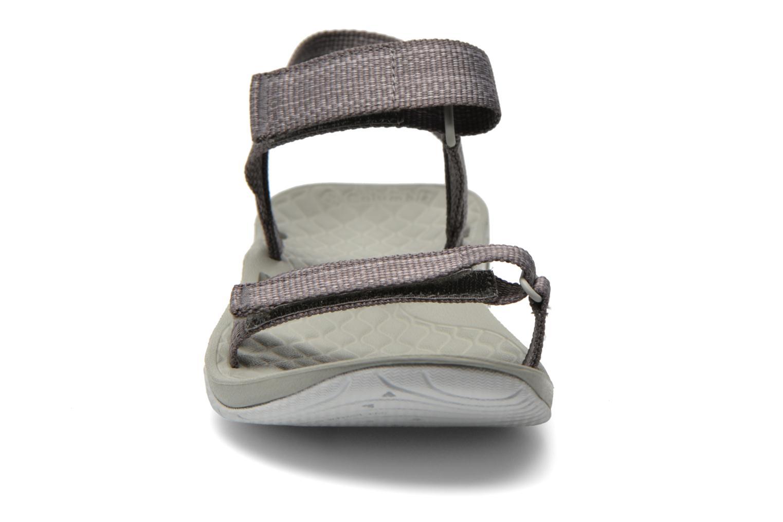 Chaussures de sport Columbia Sunbreeze Vent Avalon Gris vue portées chaussures
