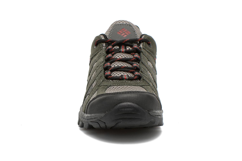 Chaussures de sport Columbia Youth Redmond Explore Gris vue portées chaussures