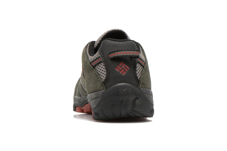 Chaussures de sport Columbia Youth Redmond Explore Gris vue droite