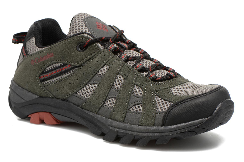 Chaussures de sport Columbia Youth Redmond Explore Gris vue détail/paire