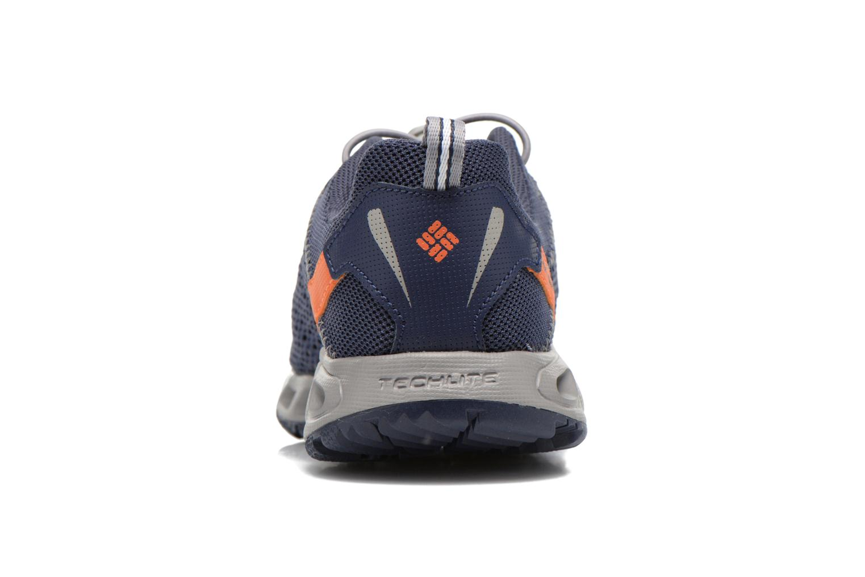 Chaussures de sport Columbia Youth Drainmaker III Bleu vue droite