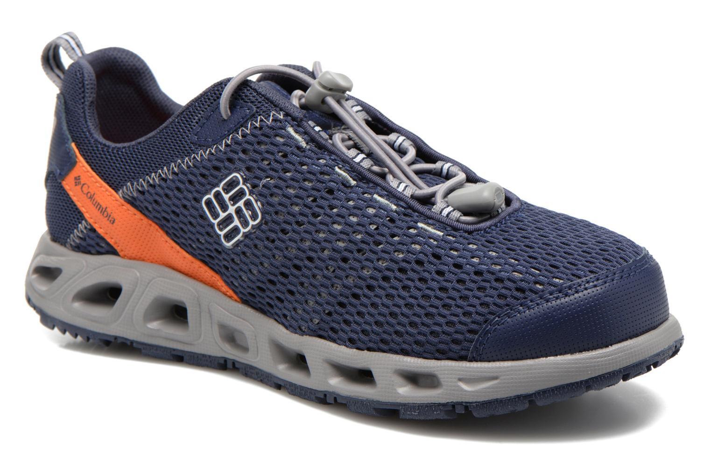 Chaussures de sport Columbia Youth Drainmaker III Bleu vue détail/paire