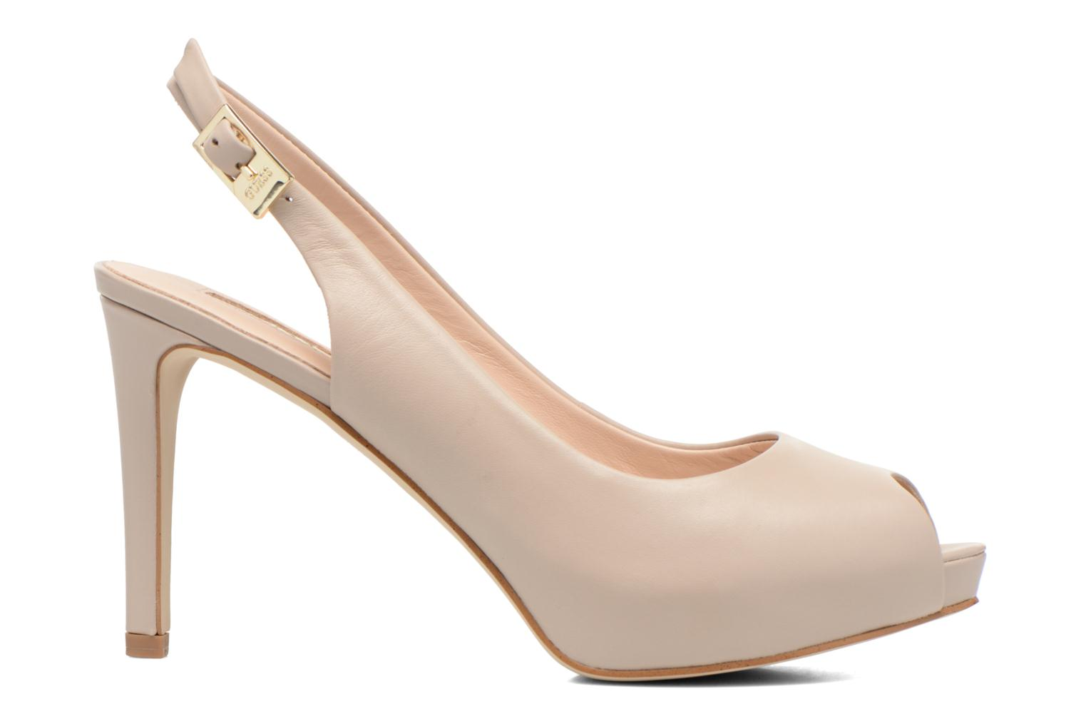 Sandals Guess Kayna Beige back view