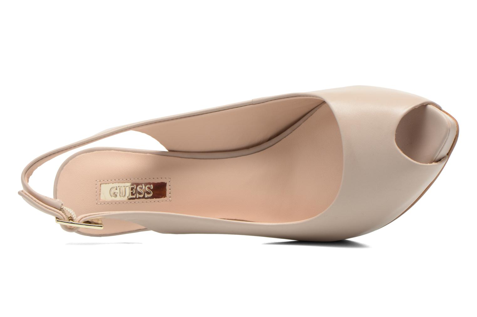 Sandals Guess Kayna Beige view from the left