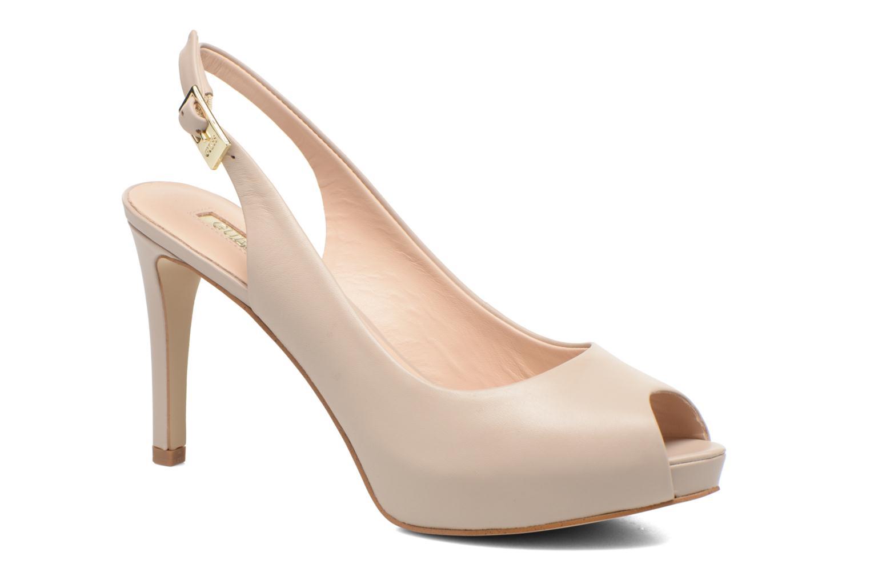 Sandales et nu-pieds Guess Kayna Beige vue détail/paire