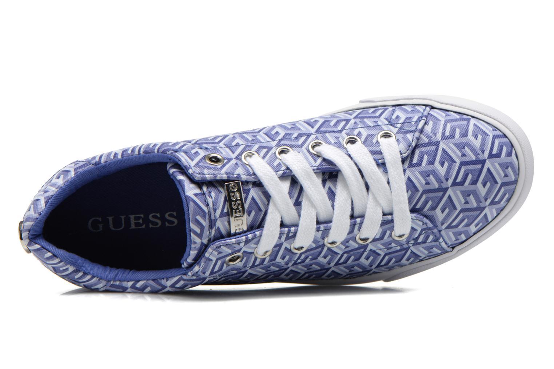 Baskets Guess Maegan Bleu vue gauche
