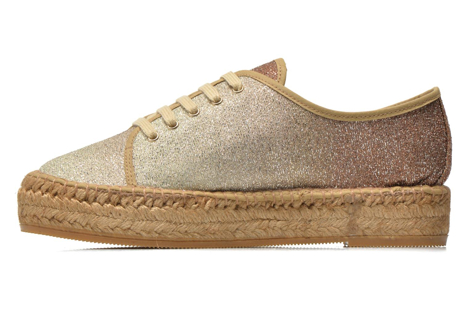 Trainers Guess Renan Brown front view