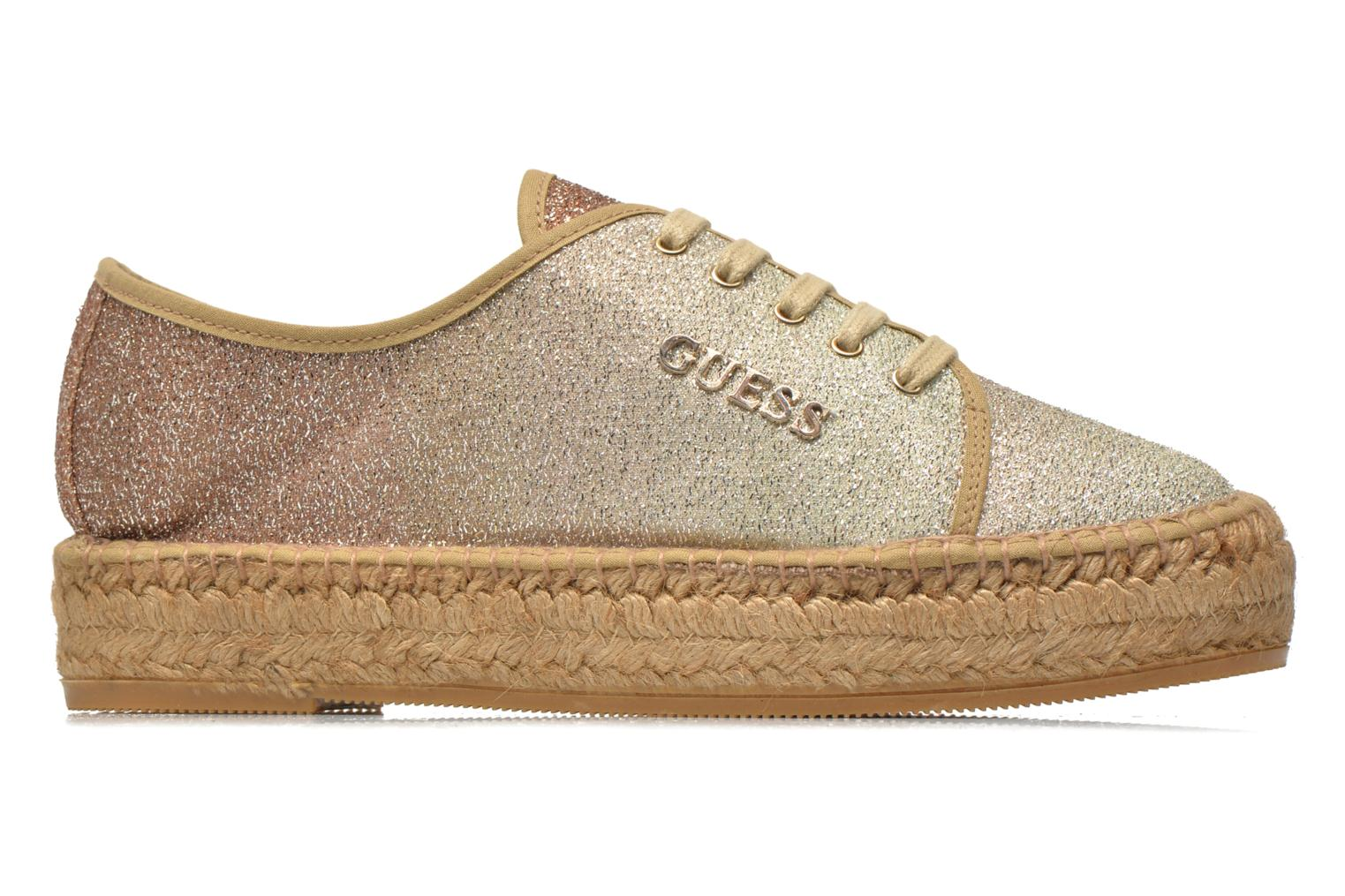 Trainers Guess Renan Brown back view