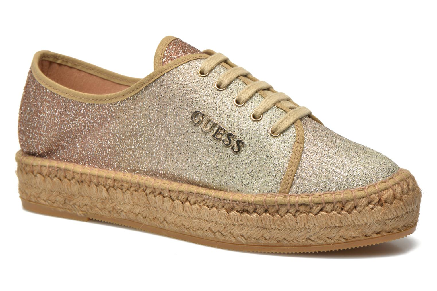 Trainers Guess Renan Brown detailed view/ Pair view