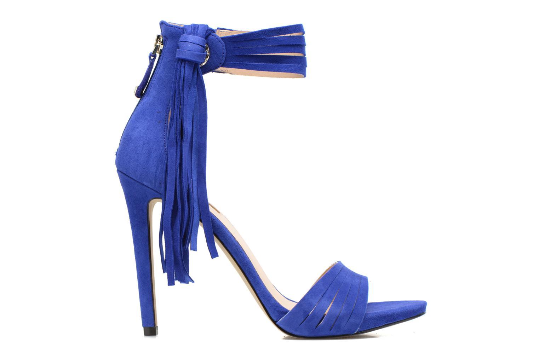 Sandales et nu-pieds Guess Aida Bleu vue derrière