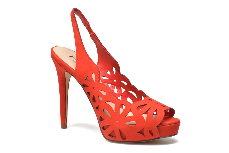 Sandales et nu-pieds Guess Hyee Rouge vue détail/paire