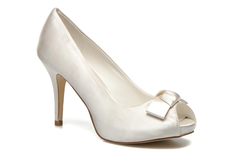 Høje hæle Menbur Luz Hvid detaljeret billede af skoene