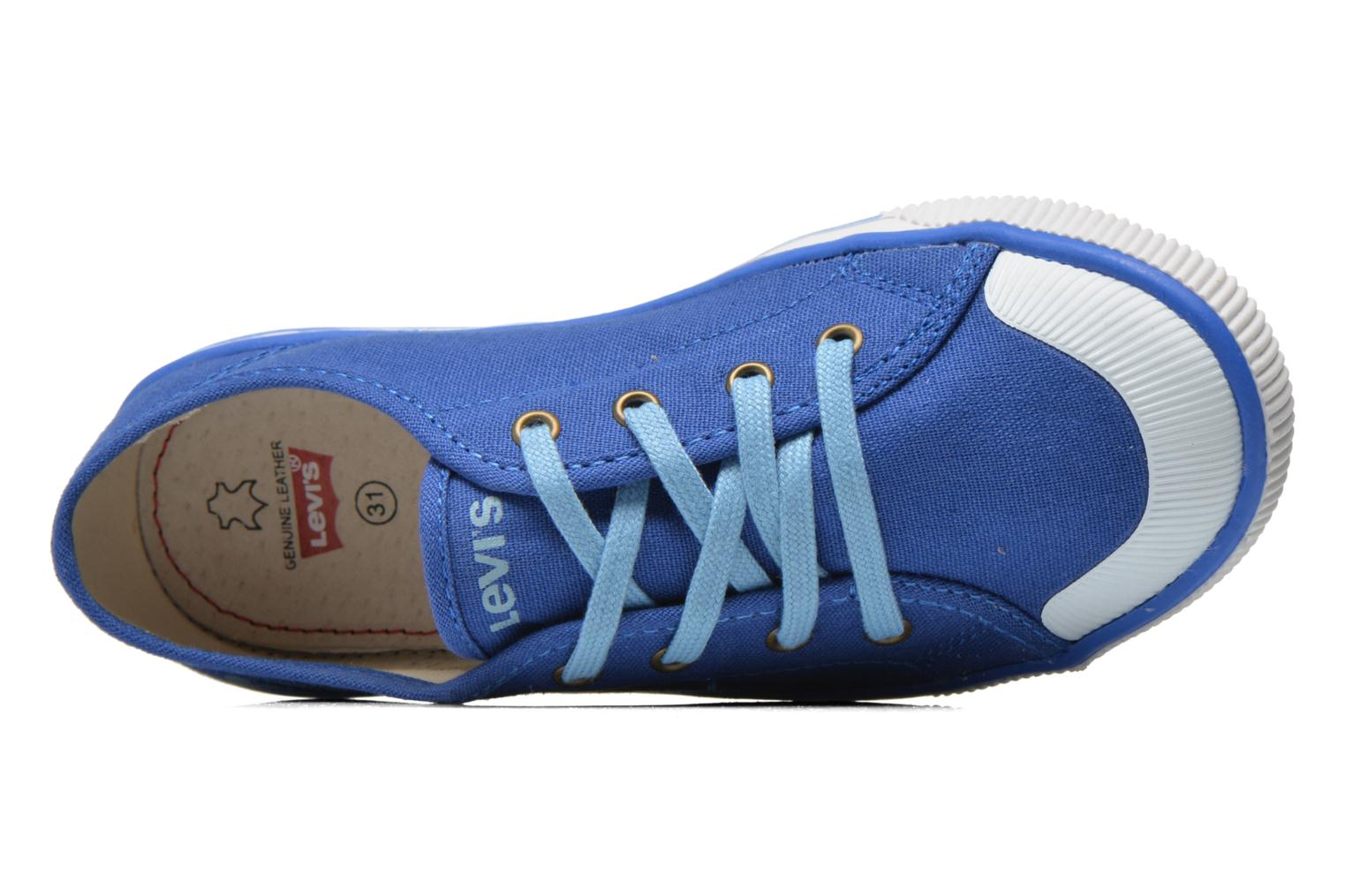 Trainers Levi's Gong Blue view from the left