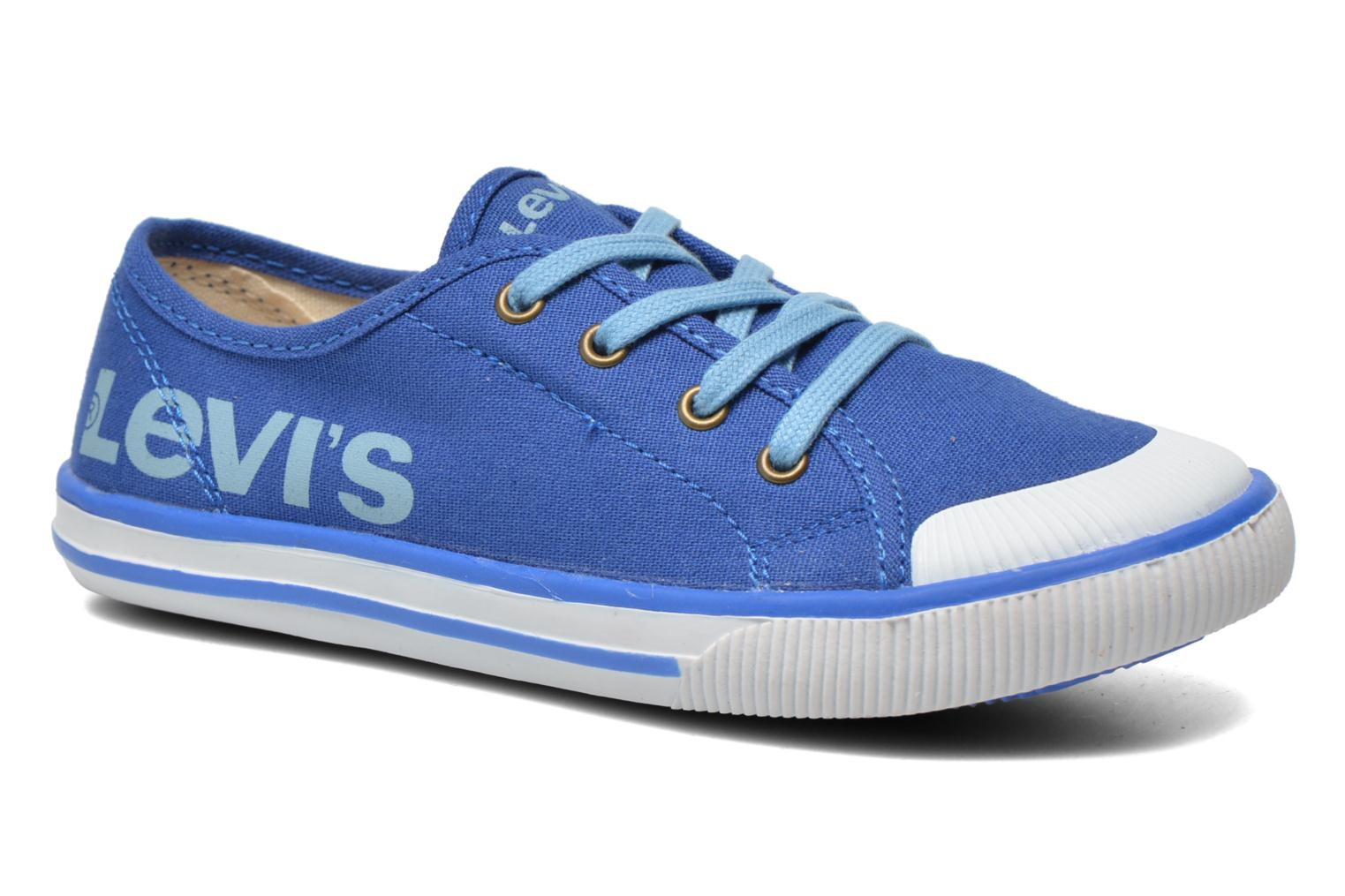 Trainers Levi's Gong Blue detailed view/ Pair view